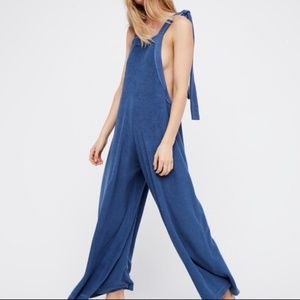 Free People Terry Cloth Jumpsuit